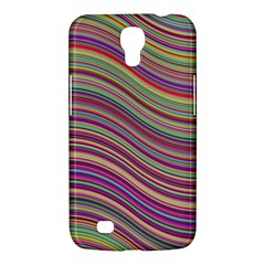 Wave Abstract Happy Background Samsung Galaxy Mega 6 3  I9200 Hardshell Case by Celenk
