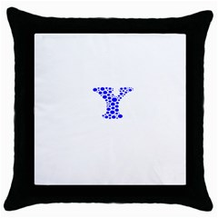 Heyyou Throw Pillow Case (black) by Hanger