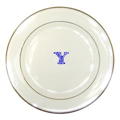 Heyyou Porcelain Plates by Hanger