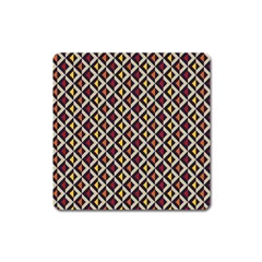 Native American Pattern 5 Square Magnet by Cveti