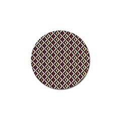 Native American Pattern 5 Golf Ball Marker (10 Pack) by Cveti