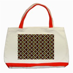 Native American Pattern 5 Classic Tote Bag (red) by Cveti