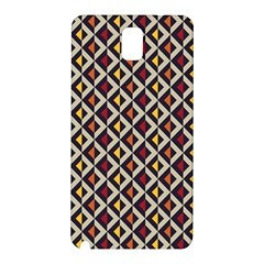 Native American Pattern 5 Samsung Galaxy Note 3 N9005 Hardshell Back Case by Cveti
