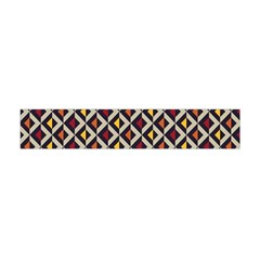 Native American Pattern 5 Flano Scarf (mini) by Cveti