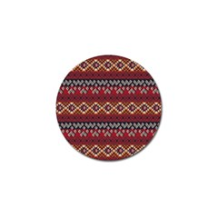 Native American Pattern 8 Golf Ball Marker (10 Pack) by Cveti