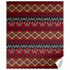 Native American Pattern 8 Canvas 20  X 24   by Cveti