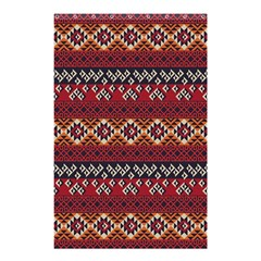 Native American Pattern 8 Shower Curtain 48  X 72  (small)  by Cveti