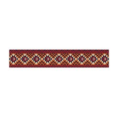 Native American Pattern 8 Flano Scarf (mini) by Cveti