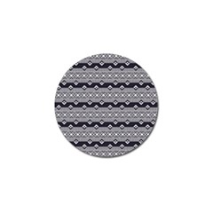 Native American Pattern 9 Golf Ball Marker (10 Pack) by Cveti