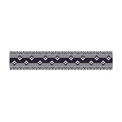 Native American Pattern 9 Flano Scarf (mini) by Cveti