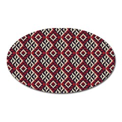 Native American 10 Oval Magnet