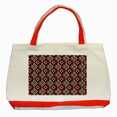 Native American 10 Classic Tote Bag (red) by Cveti