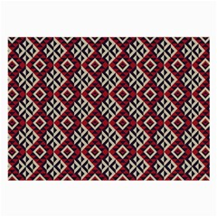 Native American 10 Large Glasses Cloth (2 Side) by Cveti