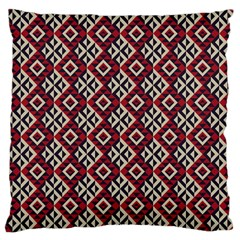 Native American 10 Large Cushion Case (one Side) by Cveti