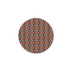 Native American Pattern 11 Golf Ball Marker (10 Pack) by Cveti