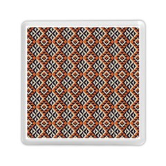 Native American Pattern 11 Memory Card Reader (square)  by Cveti