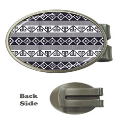 Native American 12 Money Clips (oval)  by Cveti