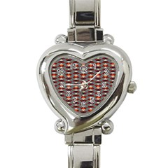 Native American 13 Heart Italian Charm Watch by Cveti