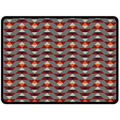 Native American 13 Double Sided Fleece Blanket (large)  by Cveti
