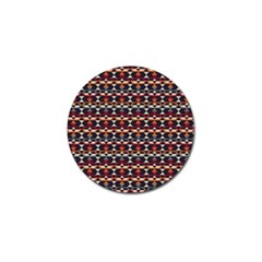 Native American Pattern 14 Golf Ball Marker (10 Pack) by Cveti