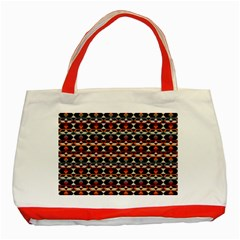 Native American Pattern 14 Classic Tote Bag (red) by Cveti