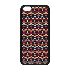 Native American Pattern 14 Apple Iphone 5c Seamless Case (black) by Cveti