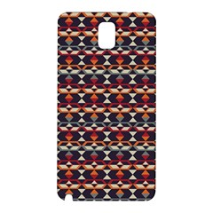 Native American Pattern 14 Samsung Galaxy Note 3 N9005 Hardshell Back Case by Cveti