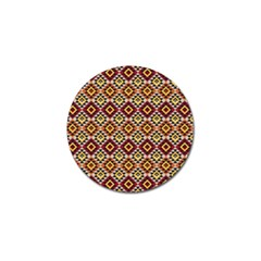 Native American Pattern 15 Golf Ball Marker (10 Pack) by Cveti