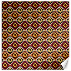 Native American Pattern 15 Canvas 20  X 20   by Cveti