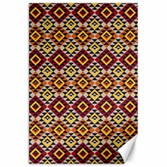 Native American Pattern 15 Canvas 20  X 30   by Cveti
