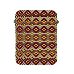Native American Pattern 15 Apple Ipad 2/3/4 Protective Soft Cases by Cveti