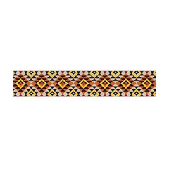 Native American Pattern 15 Flano Scarf (mini) by Cveti
