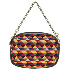 Native American Pattern 16 Chain Purses (one Side)  by Cveti