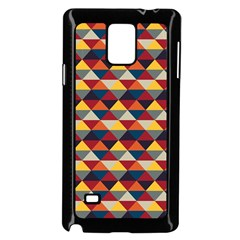 Native American Pattern 16 Samsung Galaxy Note 4 Case (black) by Cveti