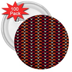 Native American Pattern 19 3  Buttons (100 Pack)  by Cveti