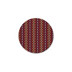 Native American Pattern 19 Golf Ball Marker (10 Pack) by Cveti