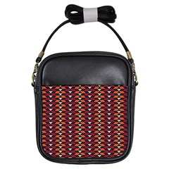 Native American Pattern 19 Girls Sling Bags by Cveti