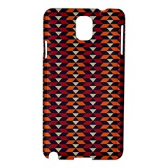 Native American Pattern 19 Samsung Galaxy Note 3 N9005 Hardshell Case by Cveti