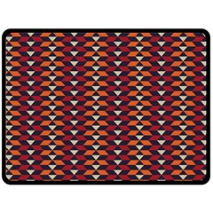 Native American Pattern 19 Double Sided Fleece Blanket (large)  by Cveti