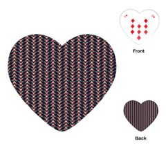 Native American Pattern 20 Playing Cards (heart)  by Cveti