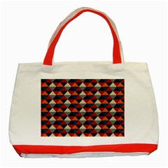 Native American Pattern 21 Classic Tote Bag (red) by Cveti