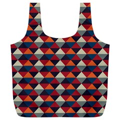 Native American Pattern 21 Full Print Recycle Bags (l)  by Cveti