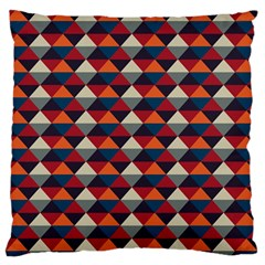 Native American Pattern 21 Large Flano Cushion Case (two Sides) by Cveti