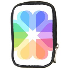 Heart Love Wedding Valentine Day Compact Camera Cases by Celenk