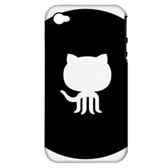 Logo Icon Github Apple Iphone 4/4s Hardshell Case (pc+silicone) by Celenk