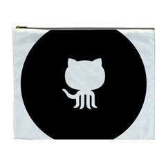 Logo Icon Github Cosmetic Bag (xl) by Celenk