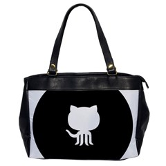Logo Icon Github Office Handbags by Celenk