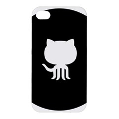 Logo Icon Github Apple Iphone 4/4s Premium Hardshell Case by Celenk