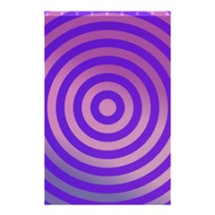 Circle Target Focus Concentric Shower Curtain 48  X 72  (small)  by Celenk