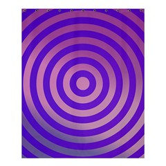 Circle Target Focus Concentric Shower Curtain 60  X 72  (medium)  by Celenk
